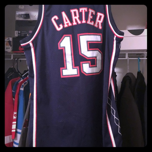 brand new 63b35 ffd3f Vince Carter New Jersey Nets Jersey